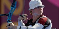 Foto: Picture Alliance / Der Blick ist hoffnungsvoll, doch in der ersten Runde war für Lisa Unruh Schluss.