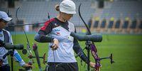 Foto: World Archery / Lisa Unruh zeigte nach technischen Problemen in der Qualifikation ihre Qualitäten in der Ko-Phase.