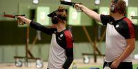 Foto: Picture Alliance / Hatten sich ein besseres Ergebnis im Mixed erhofft: Carina Wimmer und Christian Reitz.