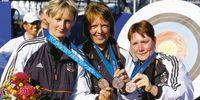 Cornelia Pfohl, Barbara Mensing, Sandra Sachse 2000 Bronze Bogen Mannschaft